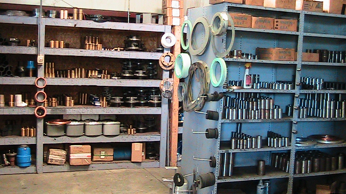 Major Turbine Pump Parts Inventory