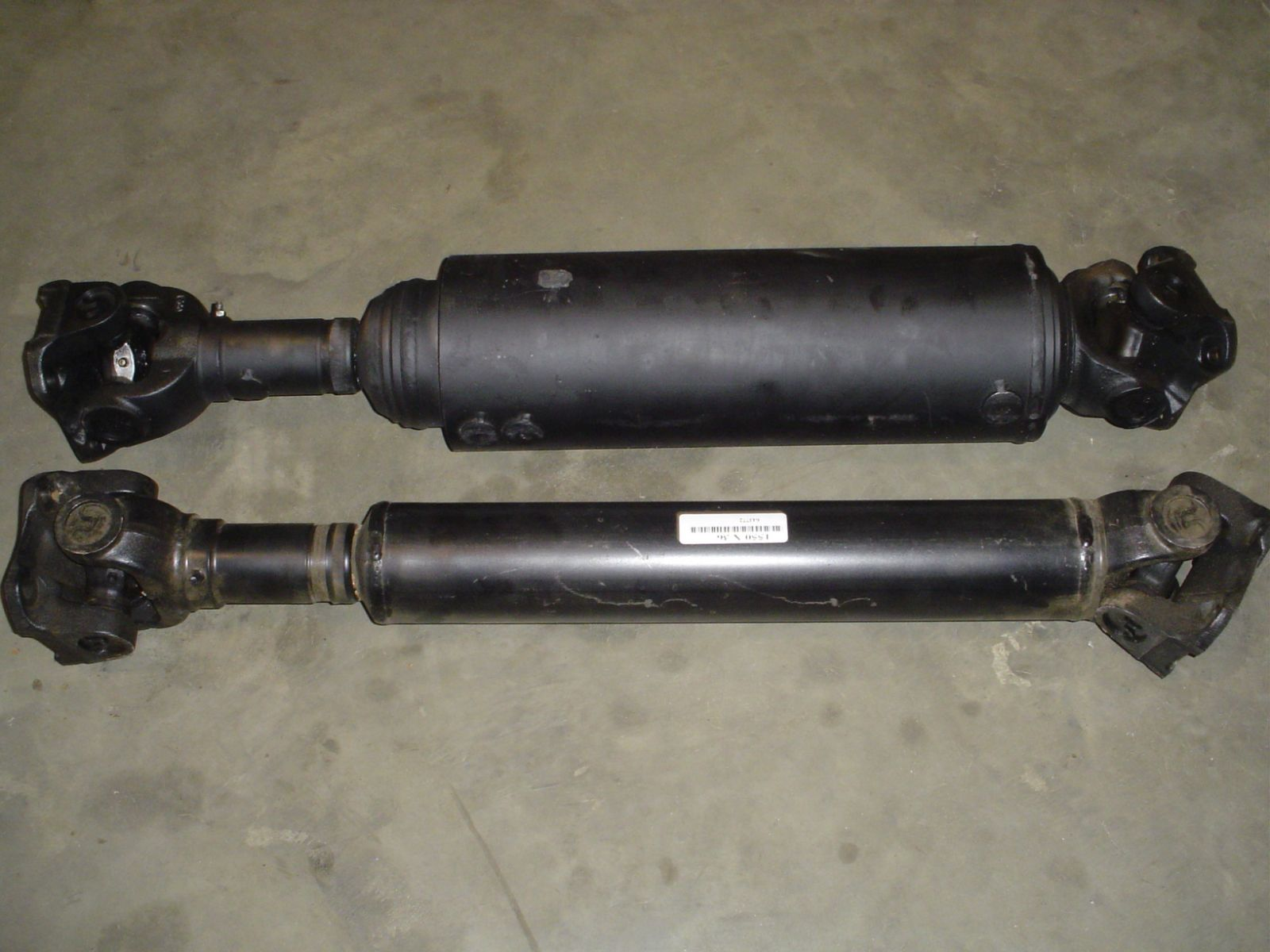 Drive shaft - Dampener drive shaft